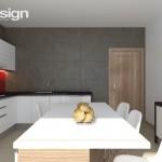 design bucatarie minimalista