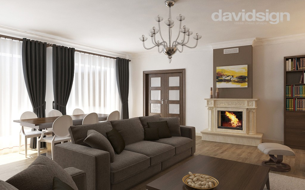Design interior clasic cu modern davidsign blog for Casa interior design