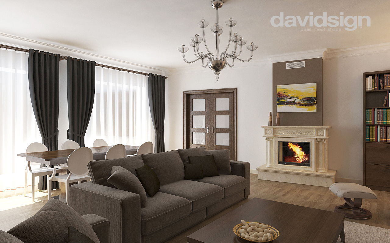 Design interior clasic cu modern davidsign blog for Interior design