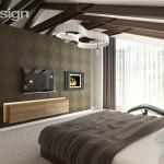 Tapet de lux in dormitor