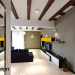 Design living bej galben