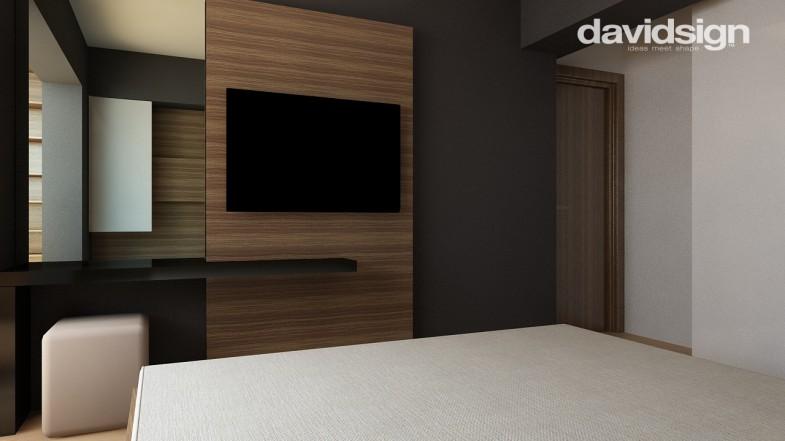 Design dormitor mic