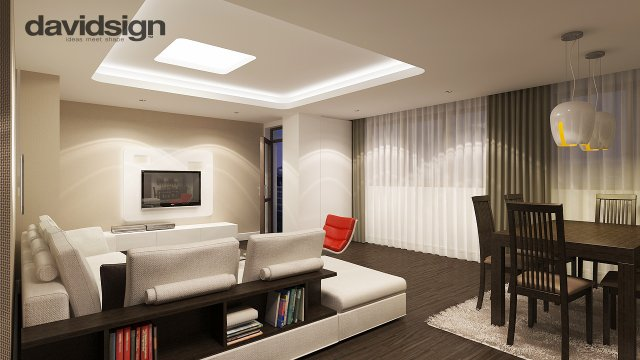 Design interior penthouse davidsign blog for Dizain case interior