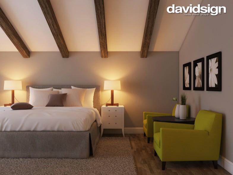 Design dormitor clasic