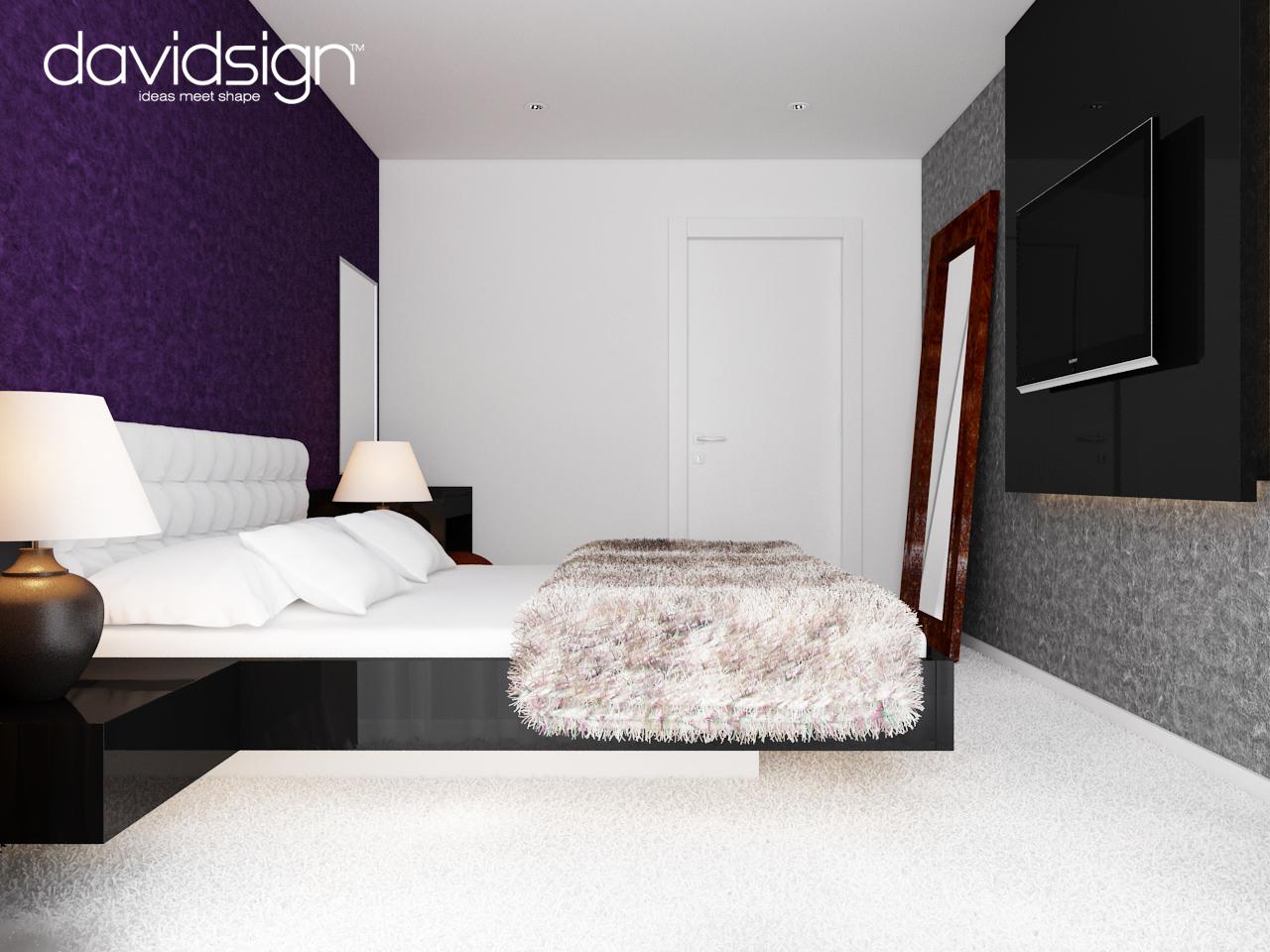 Dormitor modern 2014 Design interior