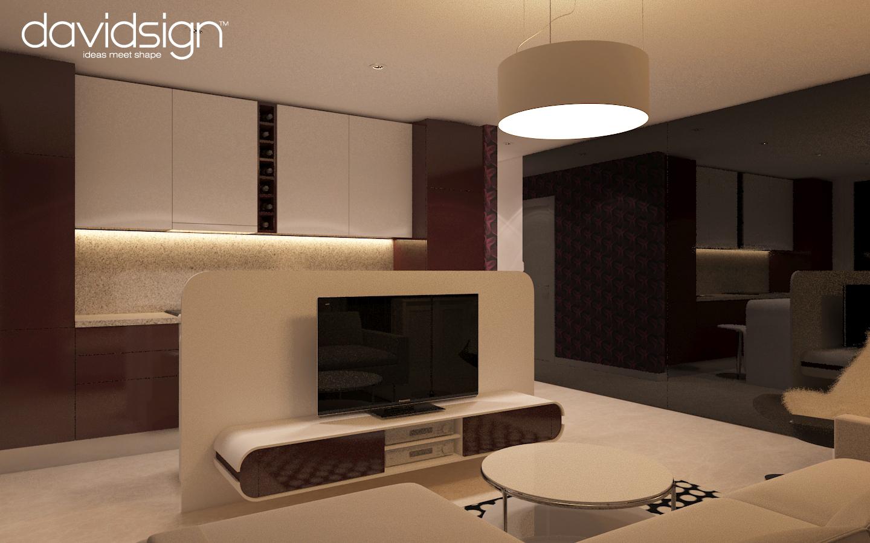 Design interior apartament bloc ared oradea for Moderne living