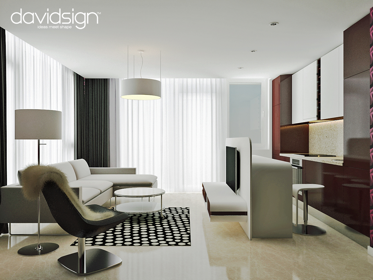 Design interior apartament bloc ared oradea for An interior design