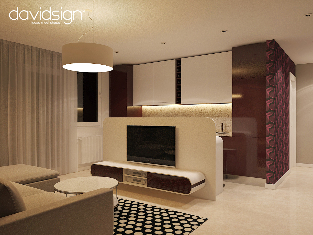 Dizain Interior Apartament Home Design Idea