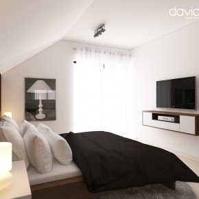 Amenajare dormitor mansarda