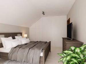 Amenajare dormitor mobilier Ikea